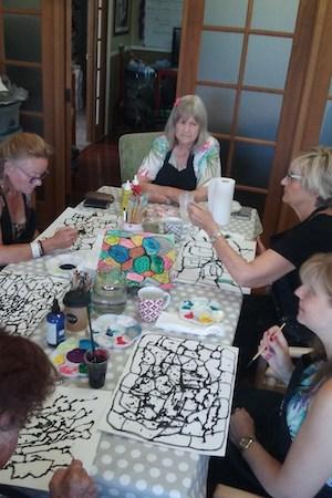 Mums Cottage Art Class